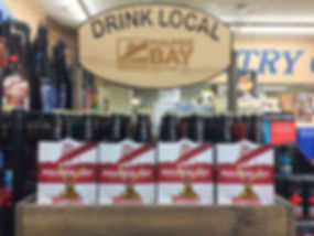 Favorite craft beer at Sautter's Market