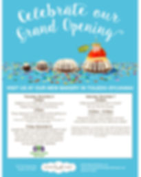 Nothing Bundt Cakes Grand Opening