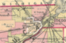 1888 map adams township