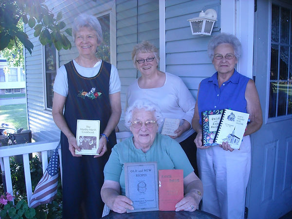 cookbook ladies 2010