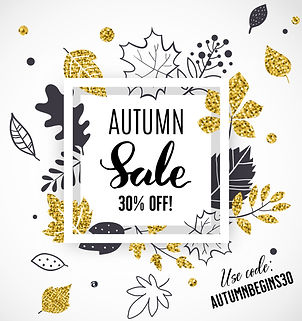 AUTUMN BEGINS 30 WITH CODE