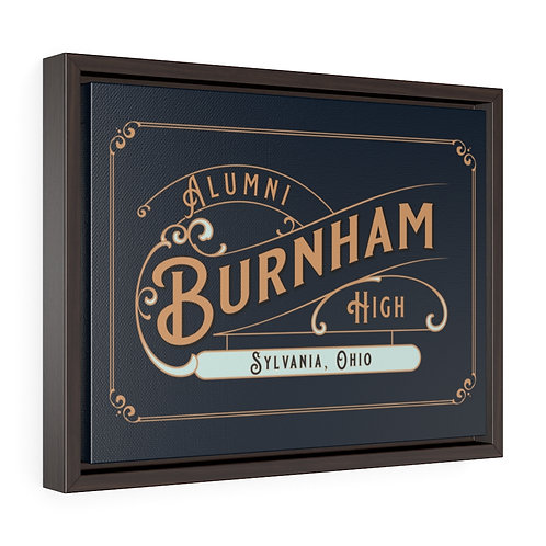 Burnham Blues Framed Premium Gallery Wrap Canvas