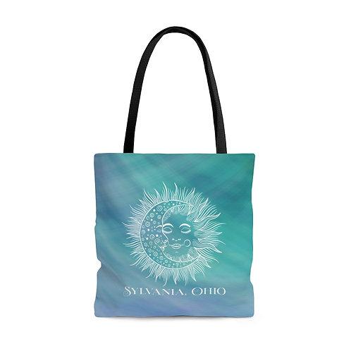 Sylvania Under the Sun & Moon Tote Bag