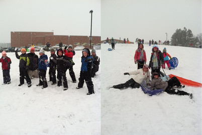 Snow Day at the hill!