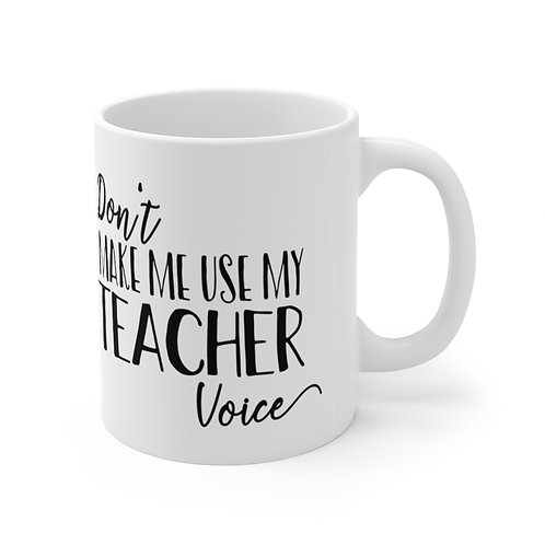 Sylvania Teacher Voice Mug