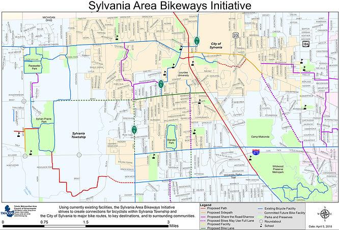 City-of-Sylvania-Bikeway-Planning initia