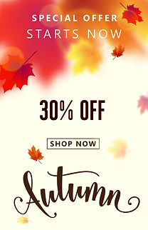 autumn 30 off sale