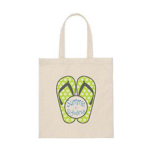 Summer in Sylvania Canvas Tote Bag