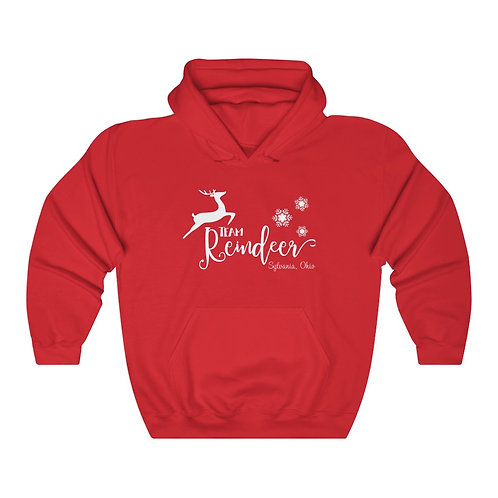 Sylvania Team Reindeer Unisex Hooded Sweatshirt