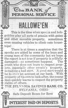 1920 halloween sylvania saving