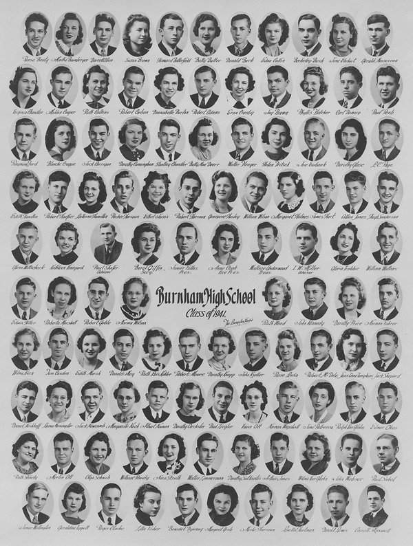 1941 class photo