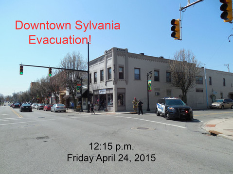 Gas leak in downtown Sylvania