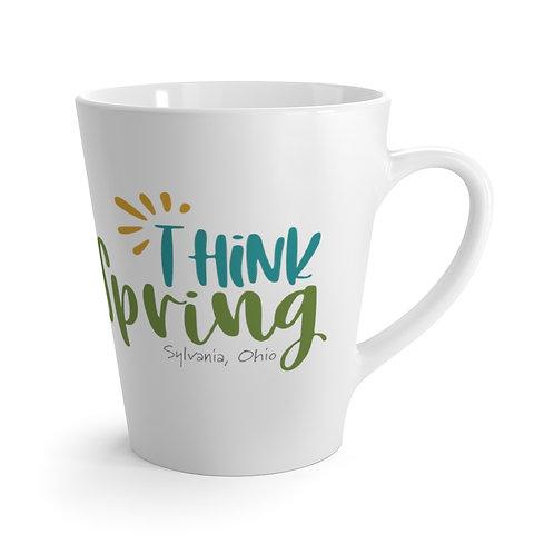 Think Spring Sylvania 12 oz Latte Mug