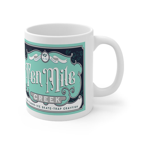Ten Mile Creek Fishing Mug