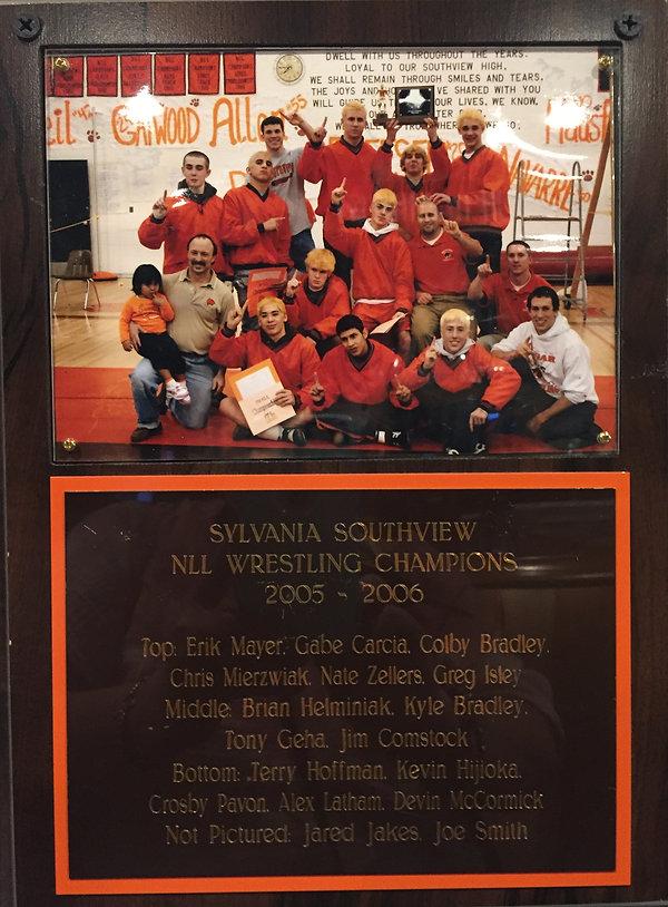 Southview wrestling 2006