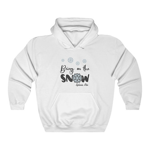 Bring on the Snow Unisex  Hooded Sweatshirt
