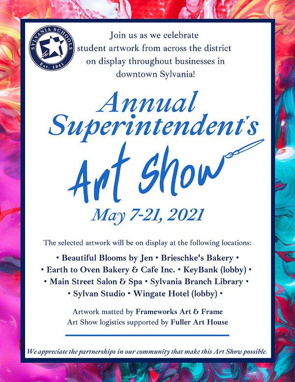 Art Invitation 2021