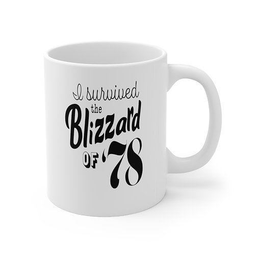 Sylvania Survived the Blizzard of '78 Mug