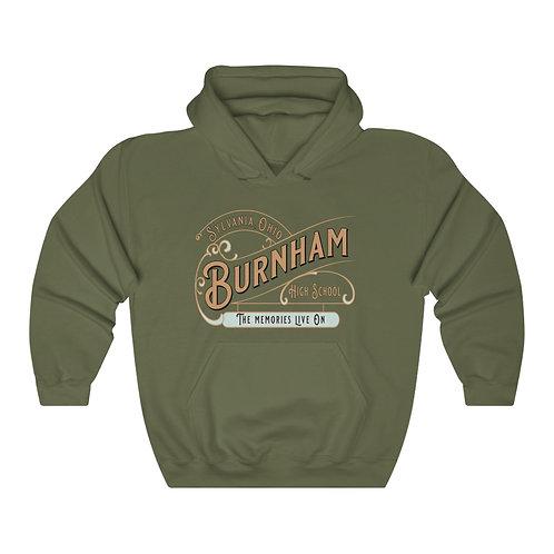 Burnham Memories Live On Unisex Hooded Sweatshirt