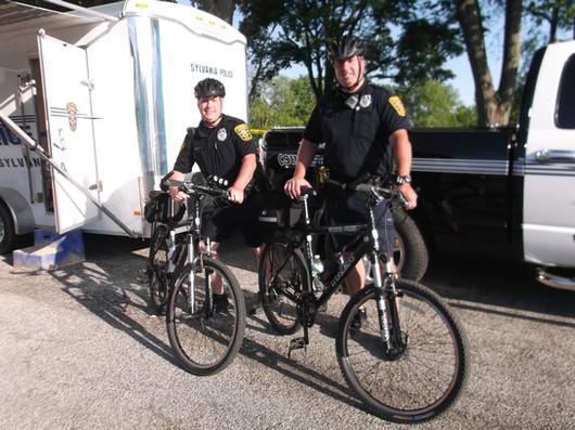 Sylvania bike patrol