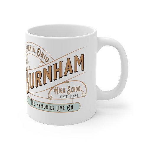 Burnham Memories Live On Mug