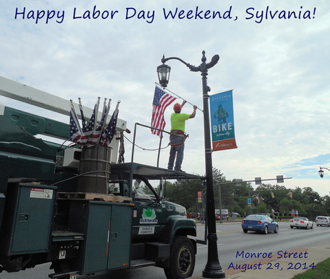 labor day in sylvania