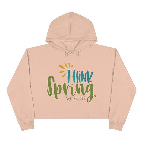 Think Spring Sylvania Crop Hoodie