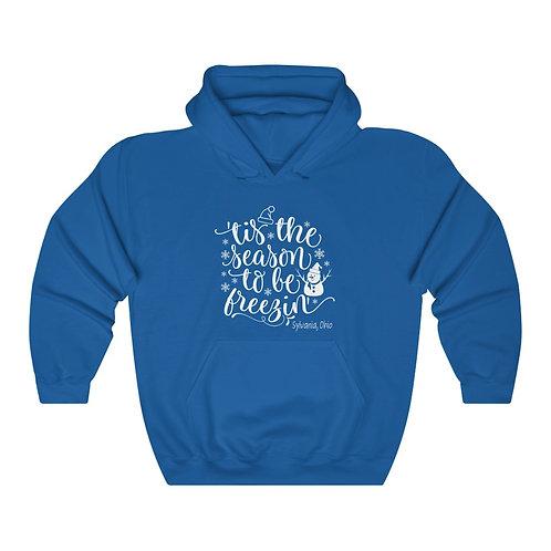 Freezin in Sylvania Unisex Hooded Sweatshirt