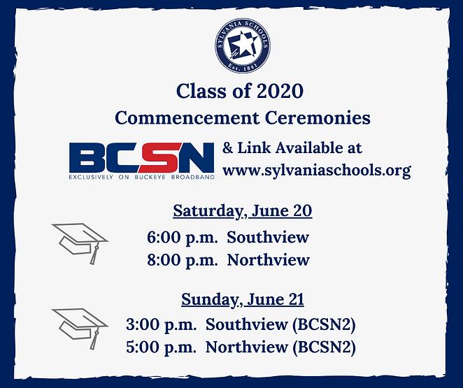 2020 Graduation Videos