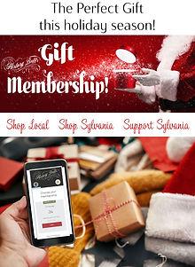 holiday gift membership