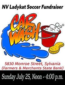 car wash lady kats july 2021