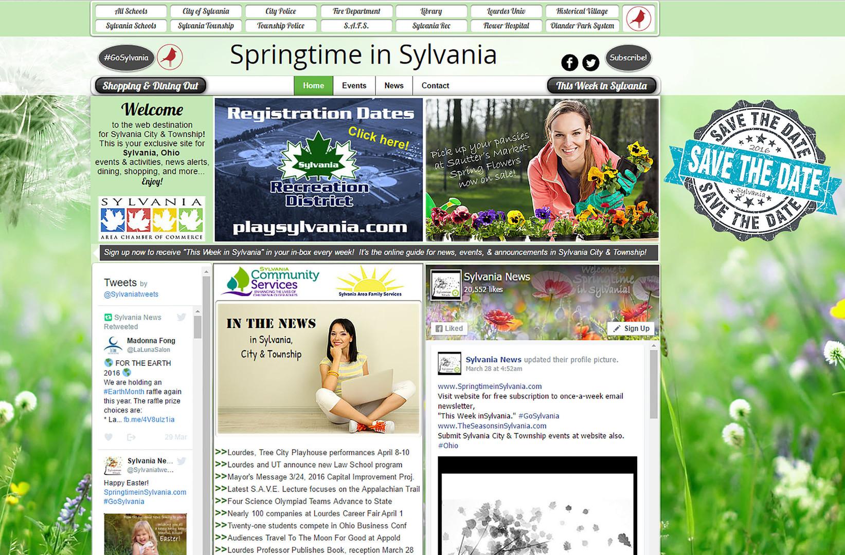 Springtime in Sylvania