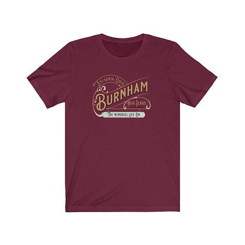 Sylvania Burnham Memories Live On Unisex Jersey Short Sleeve Tee