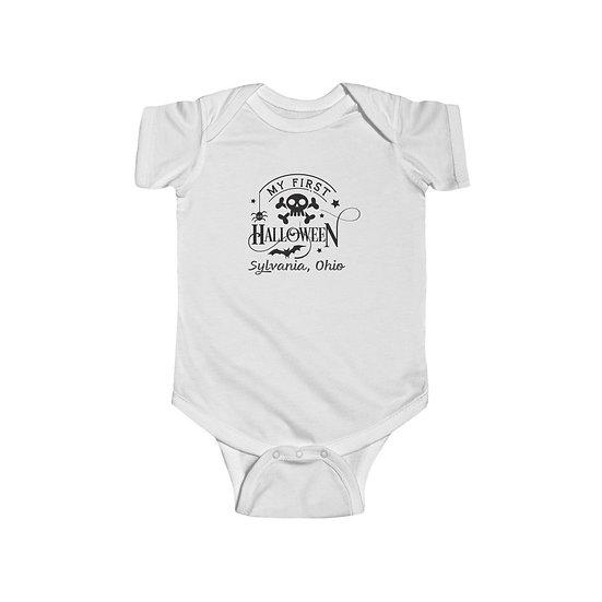 Sylvania 1st Halloween Infant Bodysuit