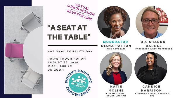 womens equality day a seat at the table