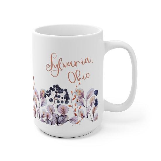 Sylvania Autumn Floral Ceramic Mug
