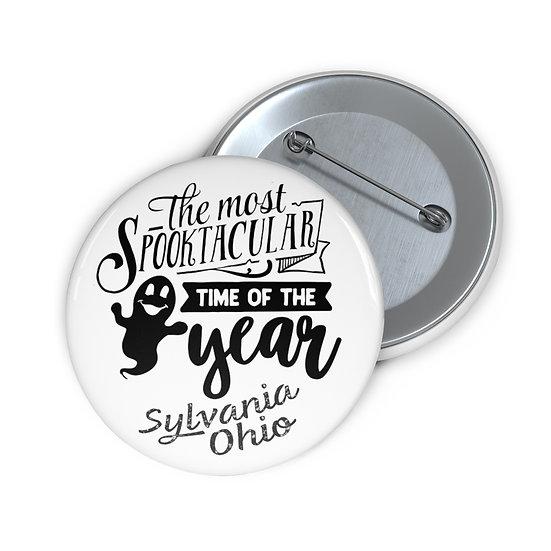 Spooktakular Sylvania Pin Buttons
