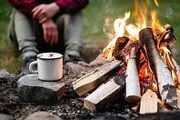 bonfire safety photo
