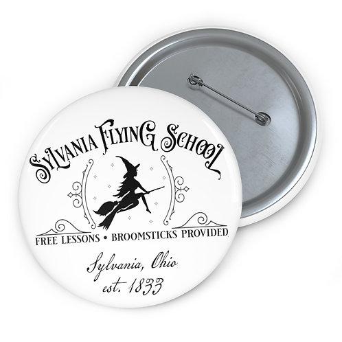 Sylvania Flying School Pin Buttons