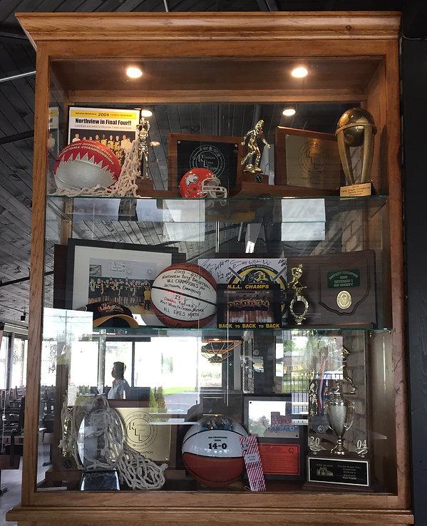 vi trophy case