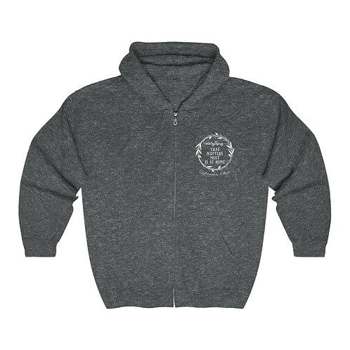 Everything That Matters Sylvania Unisex Heavy Blend™ Zip Hooded Sweatshirt