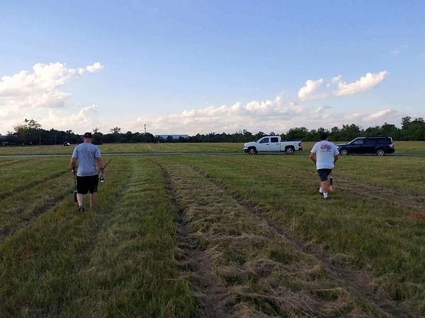 scouts marking field