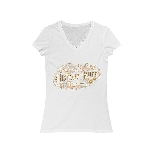 Sylvania History Buffs Women's Jersey Short Sleeve V-Neck Tee
