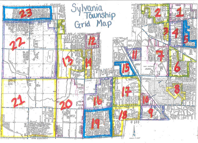 township grid map 2020