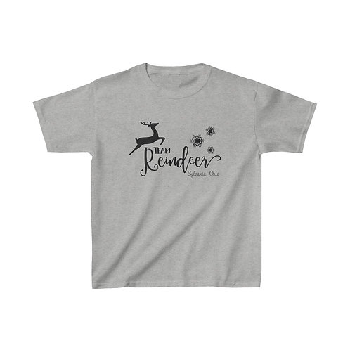 Team Reindeer Kids Tee