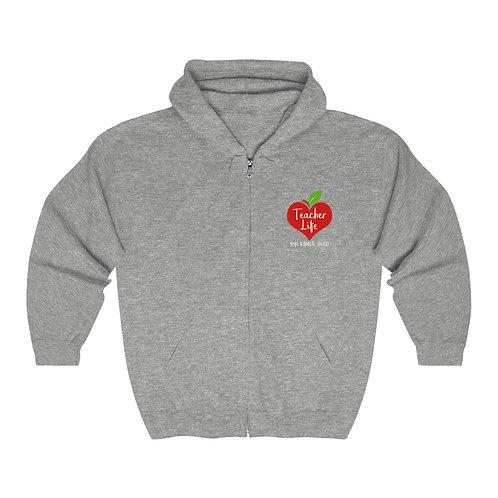 Sylvania Teacher Life Unisex Heavy Blend™ Zip Hooded Sweatshirt