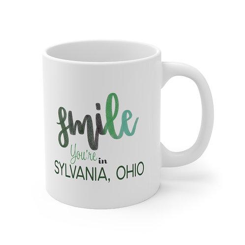 Smile You're in Sylvania Mug