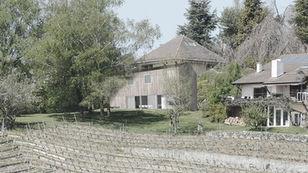 maisons dans le jardin