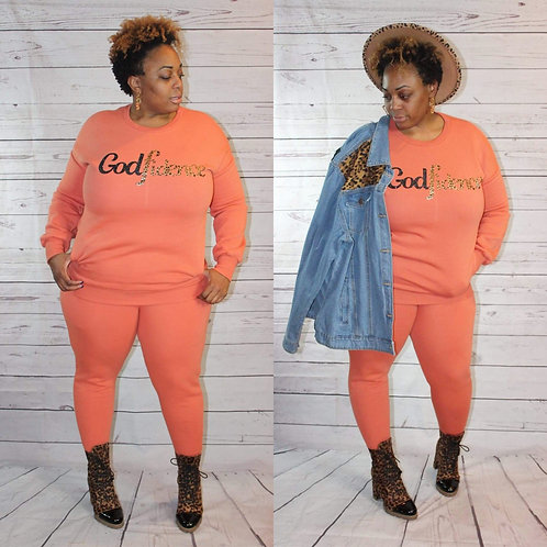 Tunic Jogger Set #Godfidence