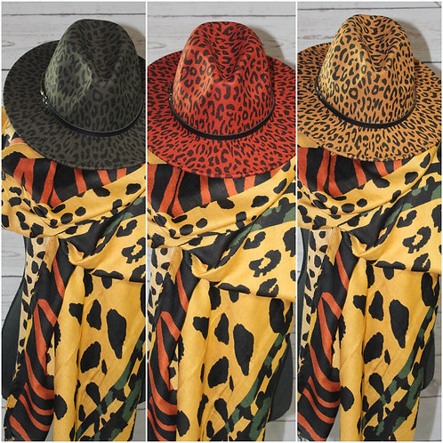 Spotted Leopard Scarf (Multiple Colors)